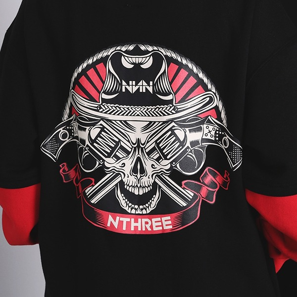 2021 NNN - SKULL LAYERED - HOOD - COLLECTION